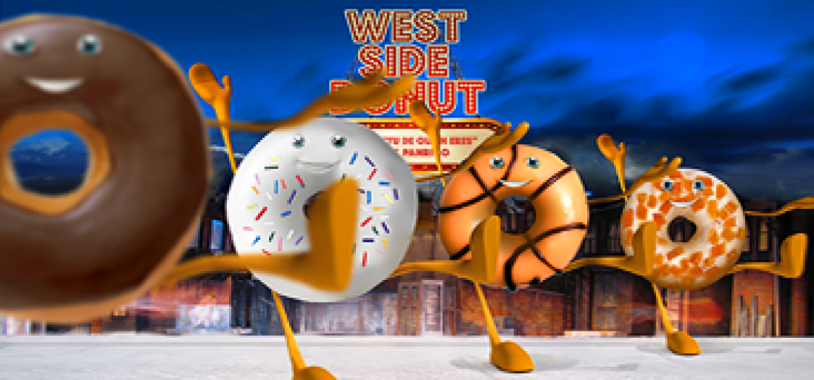 "MUSICAL ""WEST SIDE DONUT""  