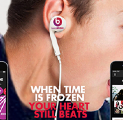 WHEN TIME IS FROZEN  |  BEATS MUSIC