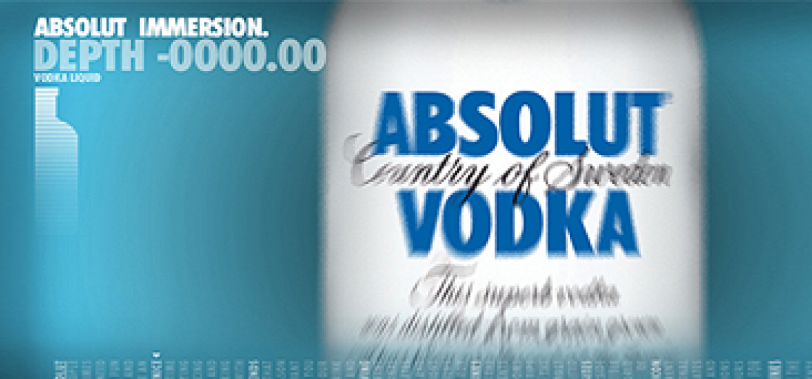 IMMERSION  |  ABSOLUT